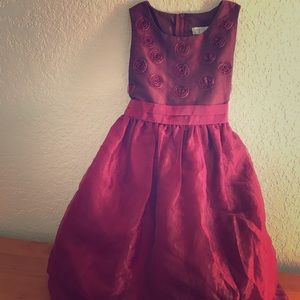 Rose Petal Elegant Formal Dress